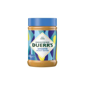 DUERRS SMOOTH PEANUT BUTTER 340gr