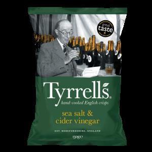 TYRRELL'S CIDER VINEGAR & SEA SALT