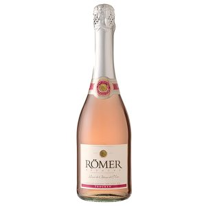 ROMER ROSE DRY SPARKLING WINE 750ml.