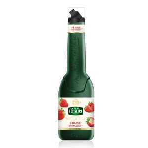 MATHIEU TEISSEIRE FRUIT PUREE STRAWBERRY 1lt.